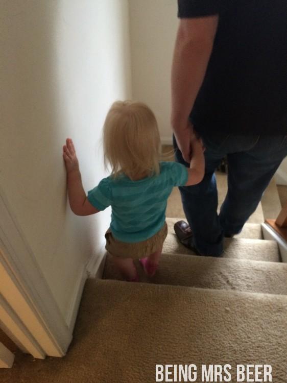 Abbid downstairs