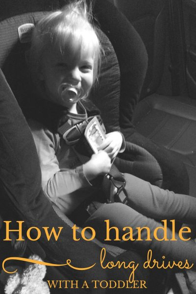 How to Handle Long Drives with a Toddler