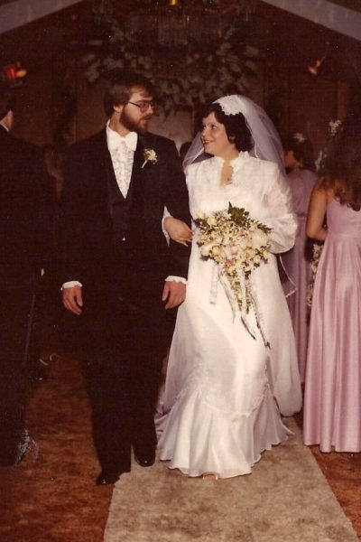 Mom and Dad Wedding 1980