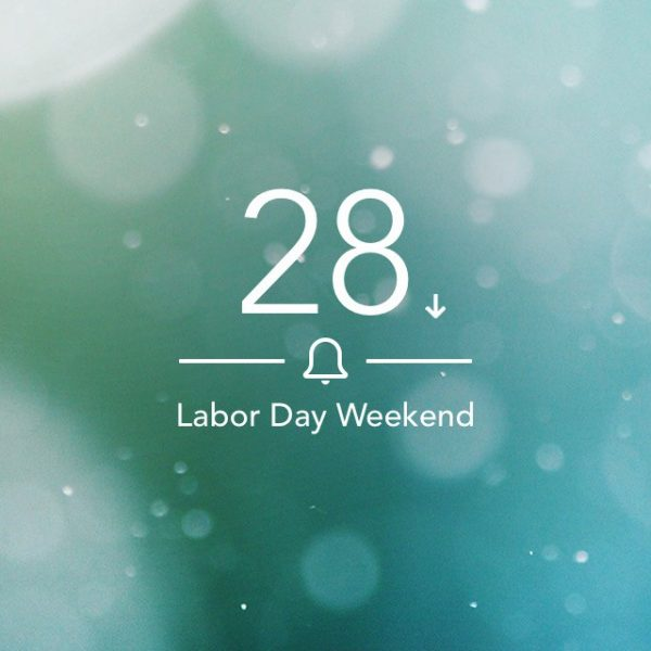 Labor Day Countdown
