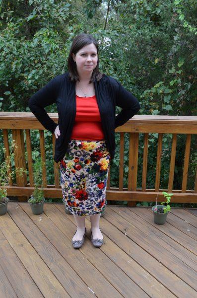 Pixley Eve Floral Skirt