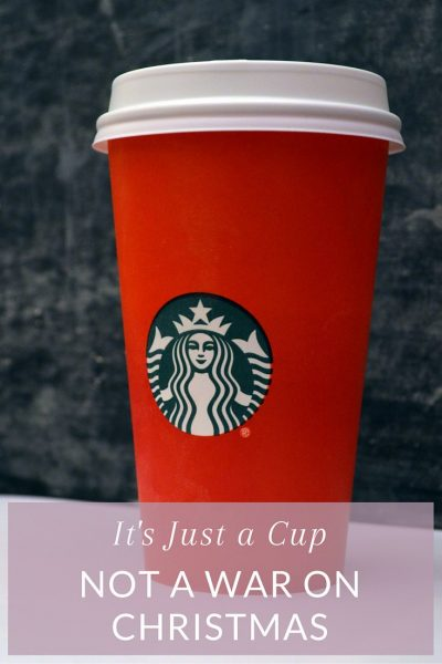 It's Just a Cup, Not a War on Christmas