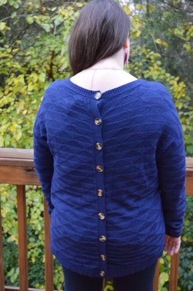 Nilla Button Back Sweater Stitch Fix