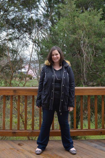 Market Spruce Hebel Knit Lined Anorak Jacket 2