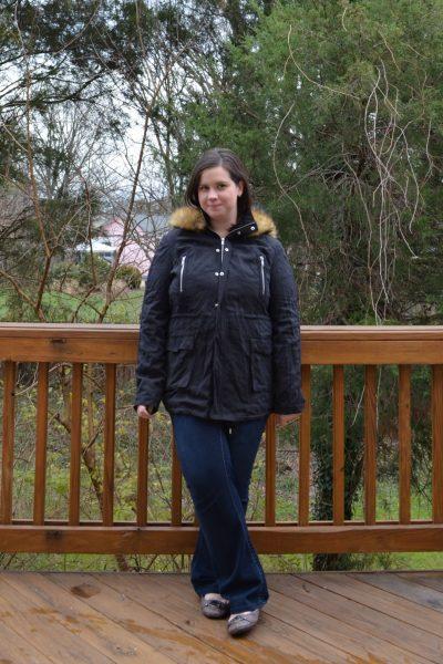 Market Spruce Hebel Knit Lined Anorak Jacket
