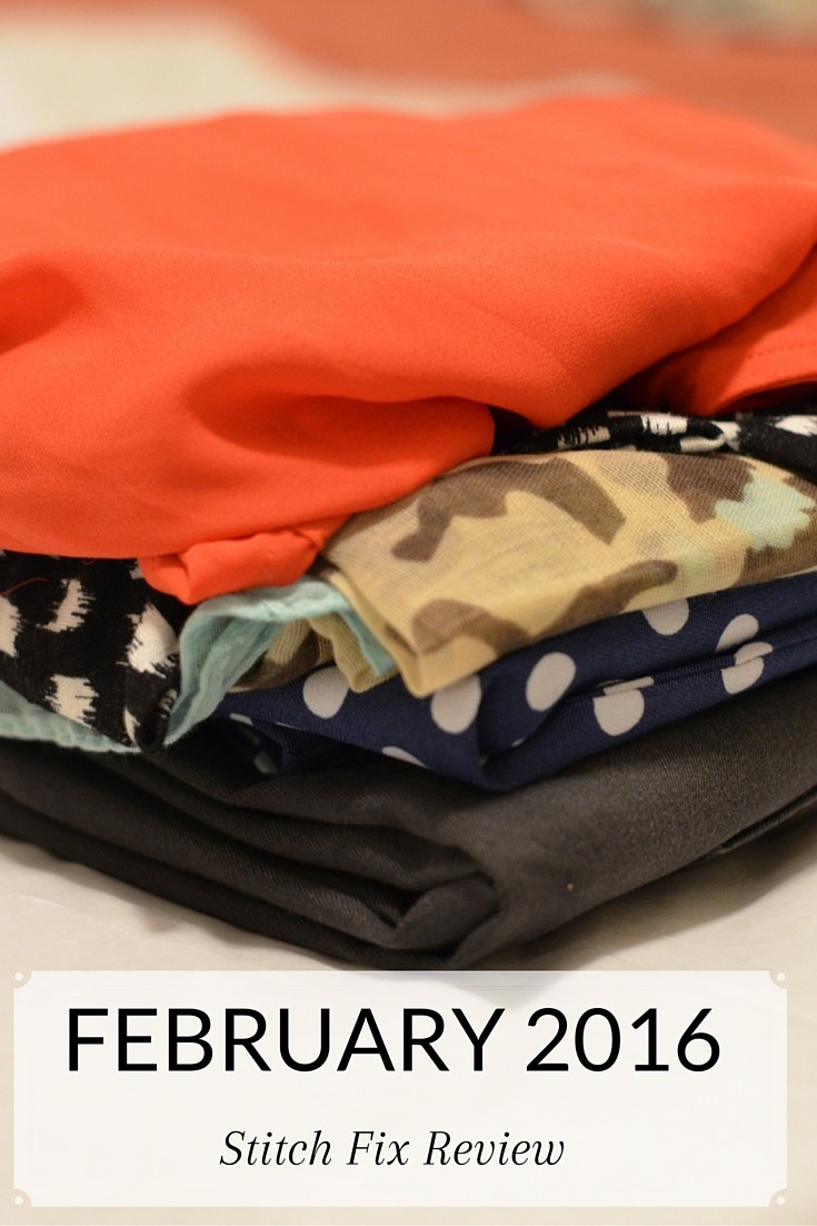 Stitch Fix Review February 2016