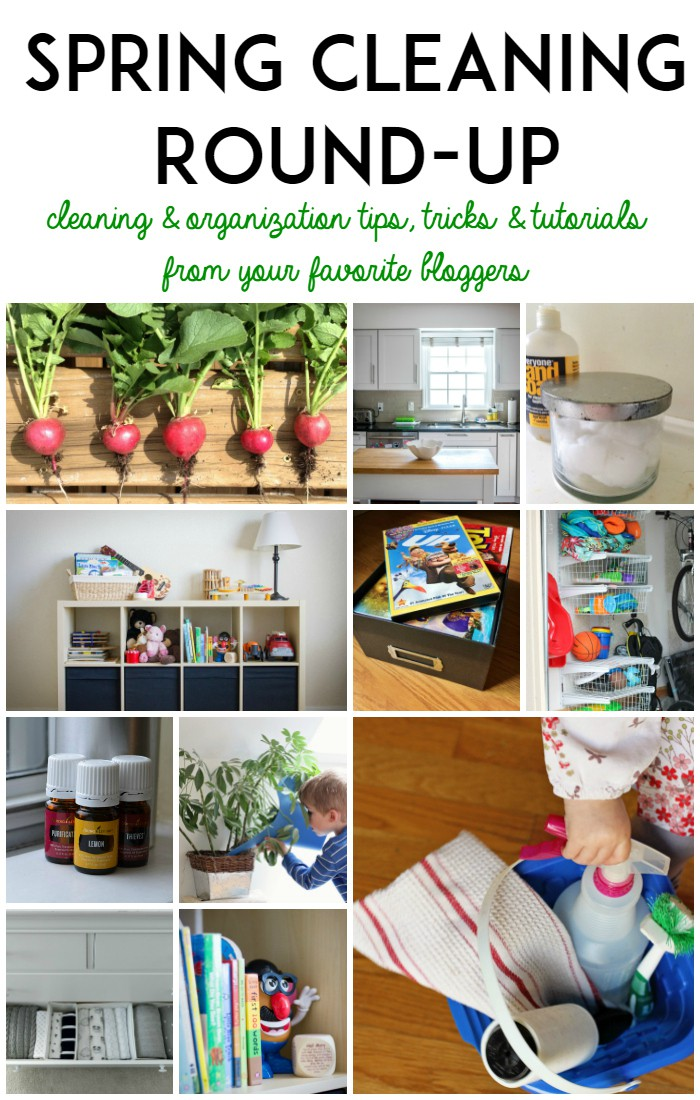 Spring Cleaning and Organization Round-Up