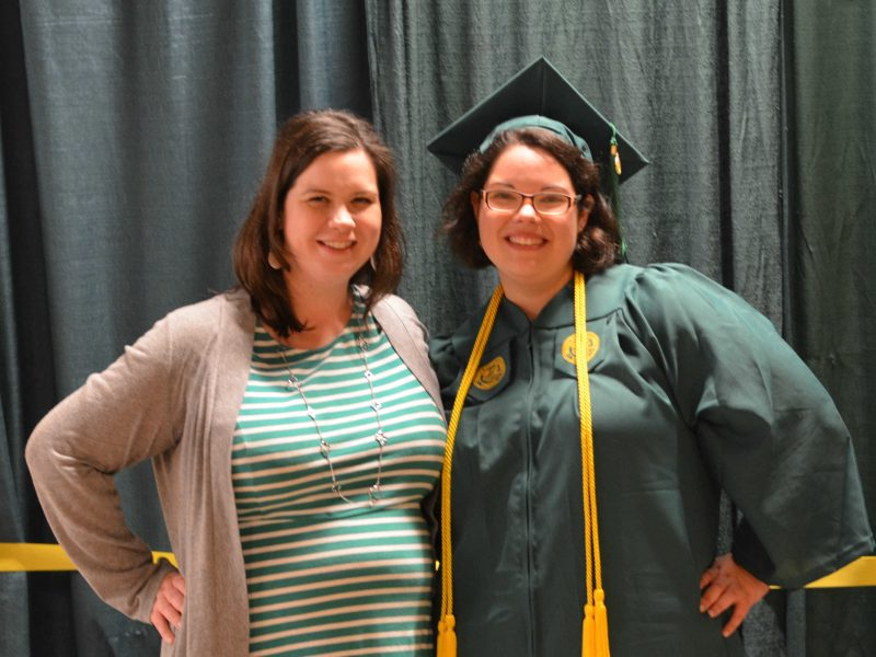 Melanie's Graduation from George Mason