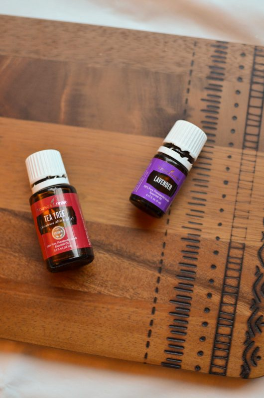 Lavender and Tea Tree Essential Oils for Pregnancy