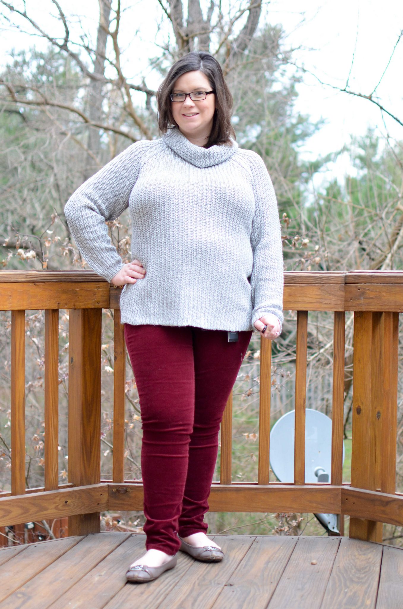 RD Style Bliss Cowl Neck Sweater
