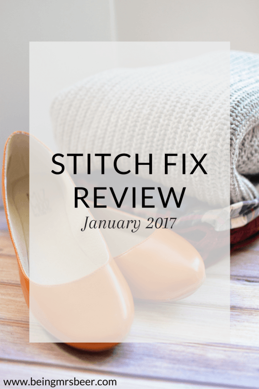 Stitch Fix Review for January 2017!