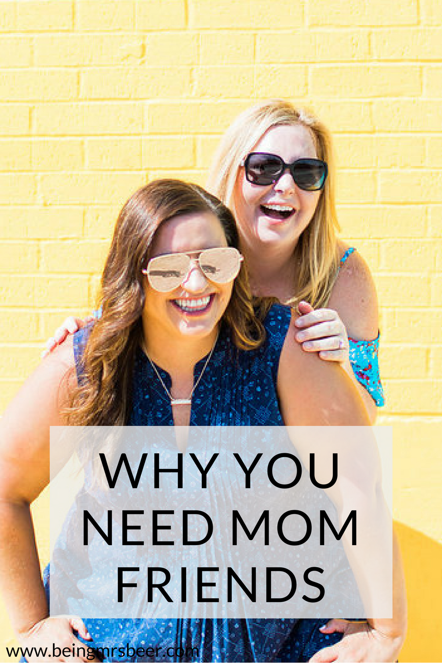 When you have a baby, there are countless things you need. One thing you shouldn't leave off the list? Mom friends.