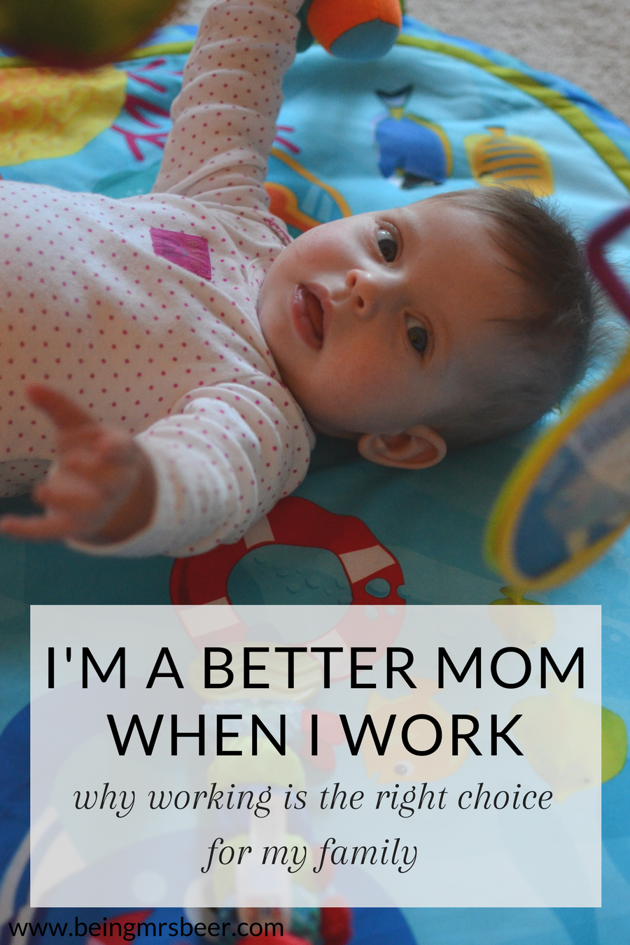 Motherhood is a challenge no matter how you approach it, but there's a different fit for every mom. For me, the right fit is being a working mom, and I'm a better mom to my girls when I work. #workingmom