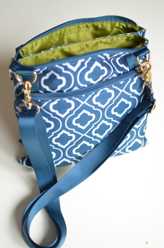 Sarah Wells MHeartM Bag - an essential for nursing and pumping moms as they head back to work!