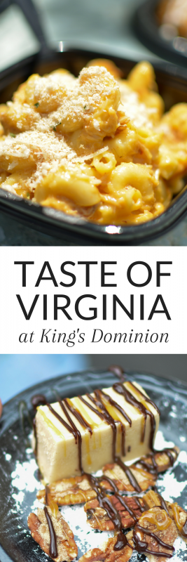 Taste of Virginia is at King's Dominion for a limited time! Make sure you get a visit in before it ends on May 21! #ad