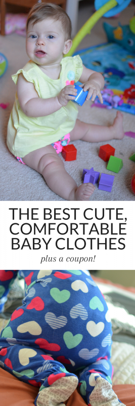 #ad The best baby clothes come from Carters! Check out their Little Baby Basics collection and grab a coupon to save on your next purchase!