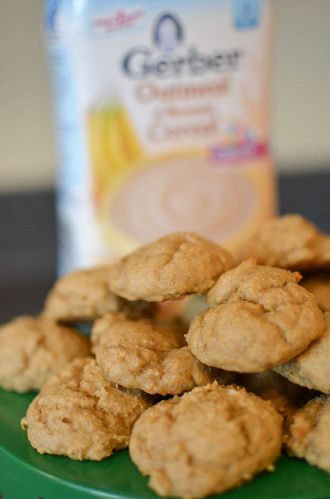 Apple Banana Cookies