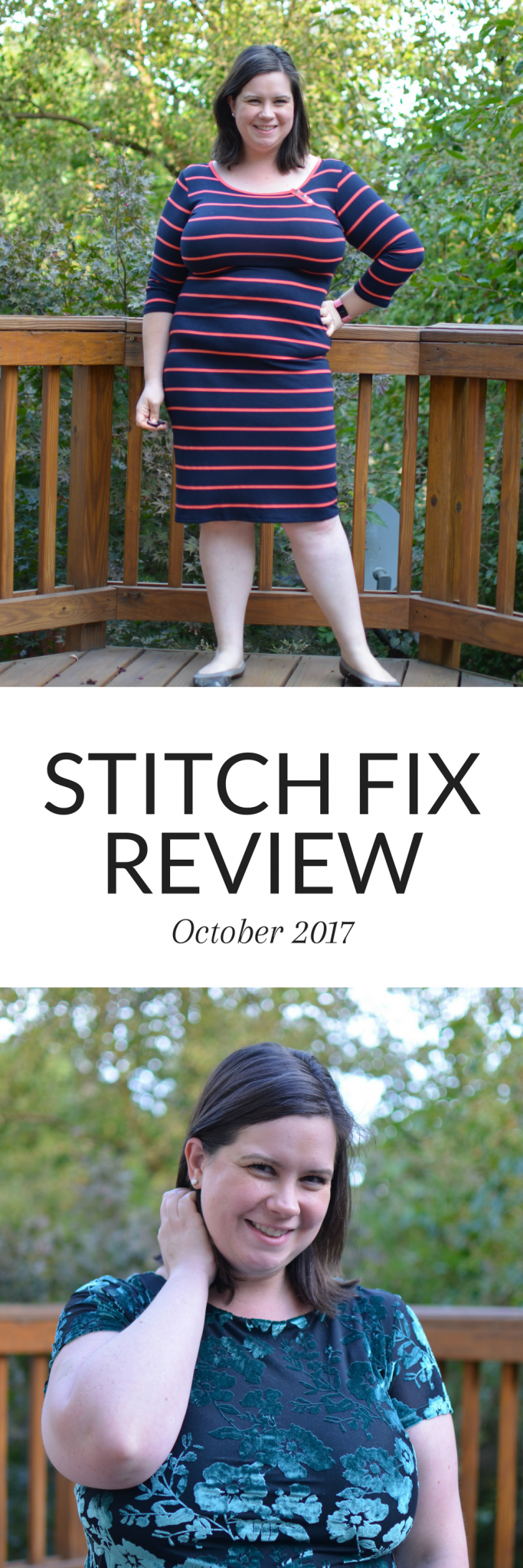 Stitch Fix Review for October 2017 - an all dress fix! Click over for more!