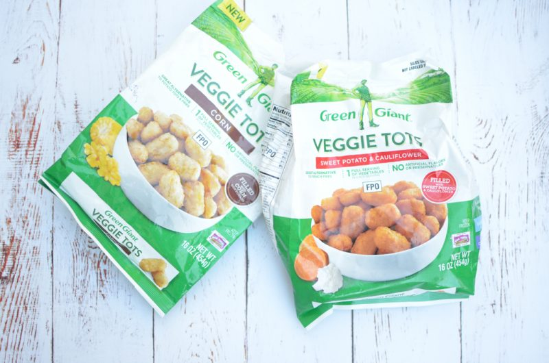 #AD Green Giant Veggie Tots are a great way to get more veggies into your family's diet! Check out their new flavors - the corn is my favorite! #GGVeggie