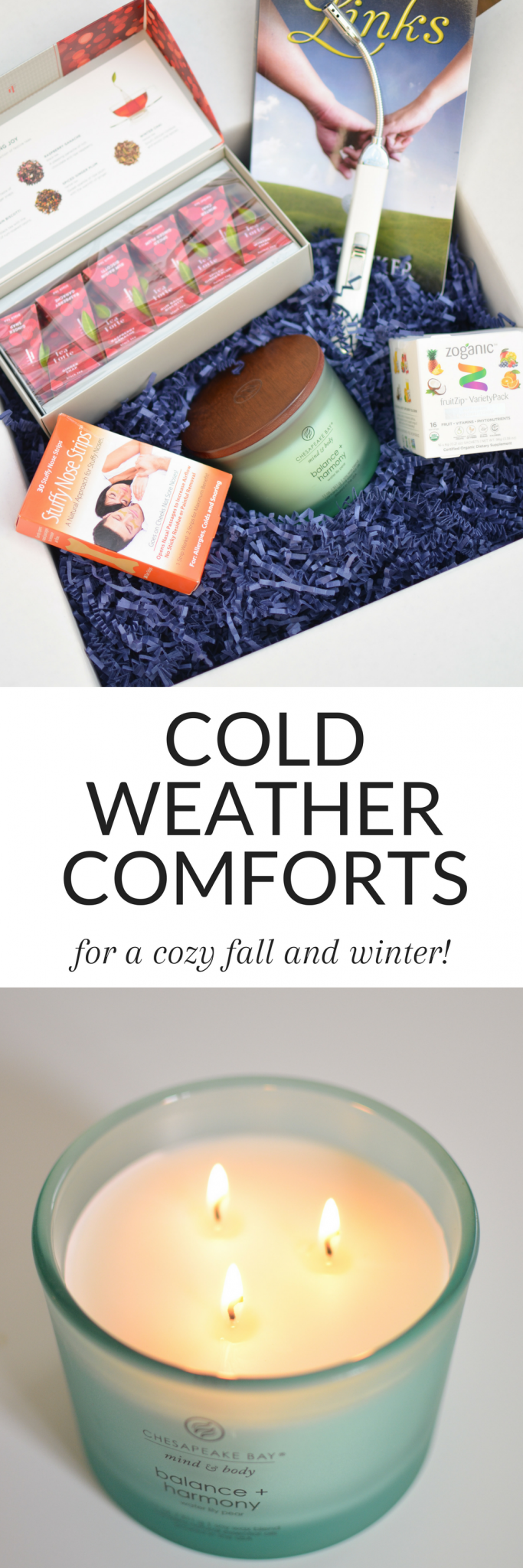 #AD #ColdComfortsBBxx Are you looking forward to the cold weather that's already on its way? It's already getting cold here in Virginia, and I got a chance to try out some of the best products for the season - you need these in your life for a cozy fall and winter!