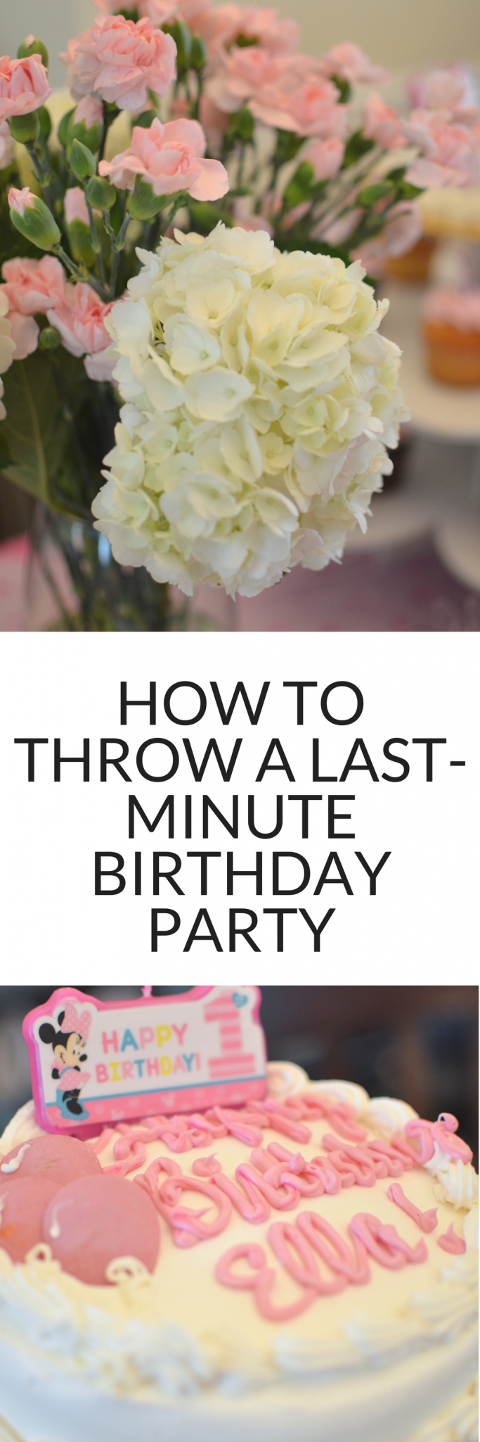 Throwing a last minute birthday party? It's easier than you think - check out these tips for throwing a perfect birthday party, even at the last minute! #birthdays #party #birthdayparty