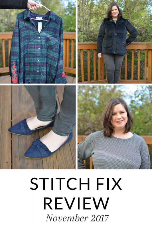 My November Stitch Fix Review is up - great fall and winter options for your wardrobe, including the BEST pair of grey jeans! #stitchfix #fashion #momstyle