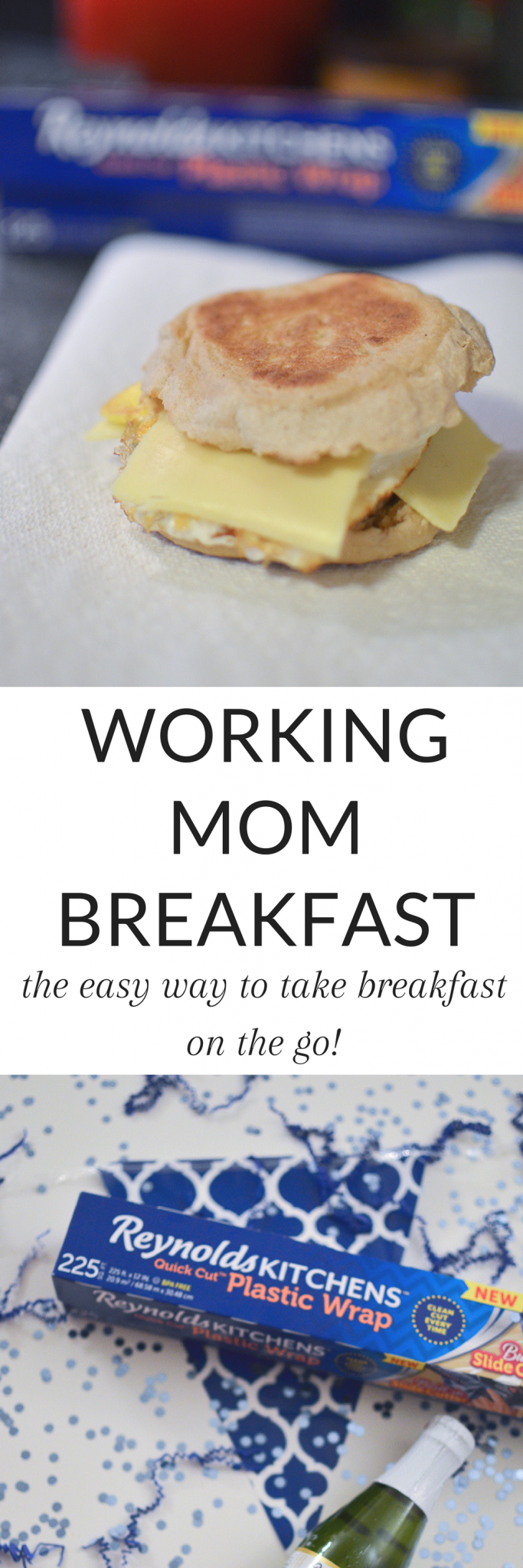 As a working mom, breakfast is a staple in my life - and I need it to be fast and easy. Read about my super easy hack for taking breakfast on the go, and the easiest working mom breakfast! #workingmom #breakfast #breakfasthack