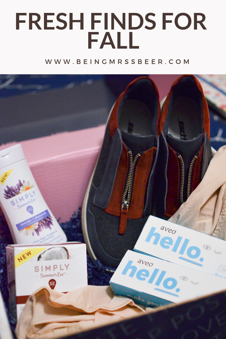 #AD What's been catching your eye for fall? I got the chance to sample a few new-to-me products, and I love that I've incorporated them into my life this season! Check out my review on the blog! #TakeMakeBoxx