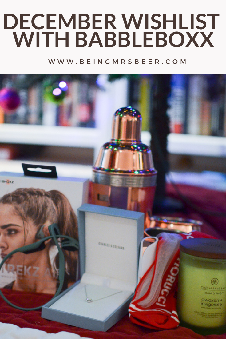 #AD So many amazing gift ideas on this list! I was fortunate to work with Babbleboxx again this month and received a box of fun gifts perfect for everyone you know - and perfect to gift yourself! Hop over to the blog to check out all the ideas - and it's not too late to scoop them up for the holidays!  #wishlistBBoxx AfterShokz Charles & Colvard Chesapeake Bay Candle Finishing Touch Fun Socks ALDI USA