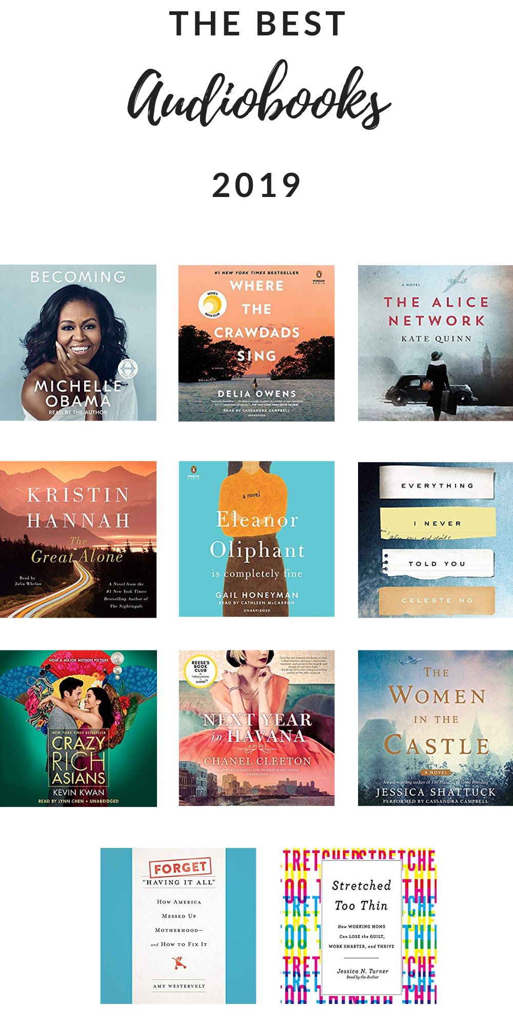 Best Audio Books 2019 Best Audiobooks of 2019, Part 1